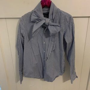 Ralph Lauren bow blouse